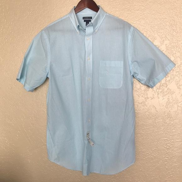 3602481594a NWT Croft   Barrow Men s Classic Fit Short Sleeve